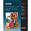 "Epson Value Photo Paper Glossy 8.5"" x 11"" - 50 Sheets - S400031"
