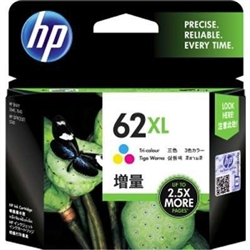 HP 62XL ( C2P07AN ) OEM Colour High Yield Inkjet Cartridge