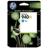 HP 940 XL ( C4907AN ) OEM Cyan High Capacity InkJet Cartridge