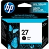 HP 27 ( C8727AN  ) OEM Black Inkjet Cartridge