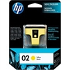 HP 02 ( C8773WN ) OEM Yellow InkJet Cartridge