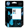 HP 88 ( C9386AN ) OEM Cyan InkJet Cartridge