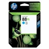 HP 88 XL ( C9391AN ) OEM Cyan High Capacity InkJet Cartridge