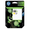 HP 88 XL ( C9393AN ) OEM Yellow High Capacity InkJet Cartridge