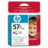 HP 57 Plus ( CB278AN ) OEM Color Inkjet Cartridge