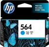 HP 564 ( CB318WN ) OEM Cyan InkJet Cartridge