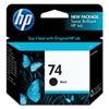 HP 74 ( CB335WN ) OEM Black InkJet Cartridge