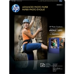 "HP Advanced Glossy Photo Paper 5"" x 7"" - 20 Sheets - CG812A"
