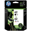 HP 62 ( N9H64FN ) OEM Black/Colour Combo Pack