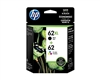 HP 62 XL / 62 ( N9H67FN ) OEM Combo Pack includes #62 XL Black and #62 Colour Ink Cartridges plus Photo Paper and Envelopes