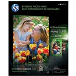 "HP Everyday Gloss Photo Paper 8.5"" x 11"" - 50 Sheets - Q8723A"