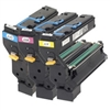 Konica Minolta 1710598-100 ( 1710598100 ) OEM Value Pack (includes one each of Black, Cyan, Magenta and Yellow Toner Cartridges)