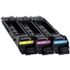 Konica Minolta A0DKJ32 OEM Value Pack  includes one Cyan, magenta and Yellow Laser Toner Cartridge