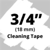 Brother TZeCL4 Cleaning Tape 18mm
