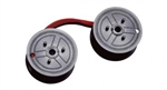 DataProducts E3027 Non-OEM New Black/Red Universal Calculator Spool C-Wind (Pack of 12)
