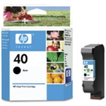 HP 40 ( 51640A ) OEM Black Inkjet Cartridge